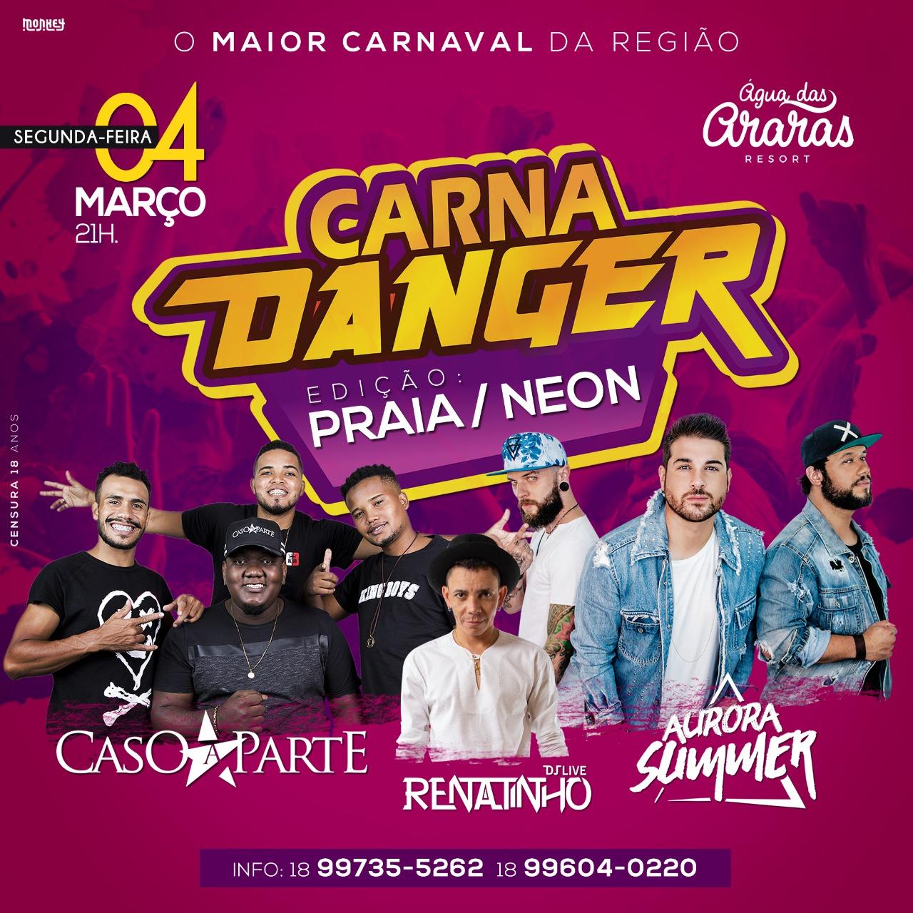 CARNA DANGER (PRAIA/NEON)