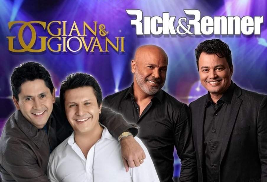 Gian & Giovani e Rick & Renner
