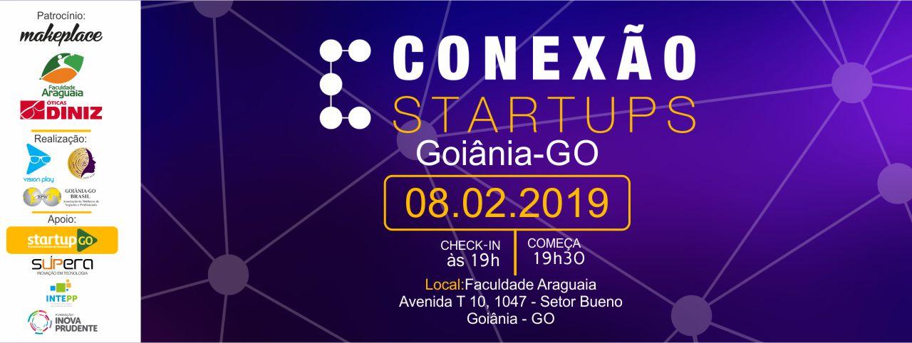 CONEXÃO STARTUPS - GOIÂNIA