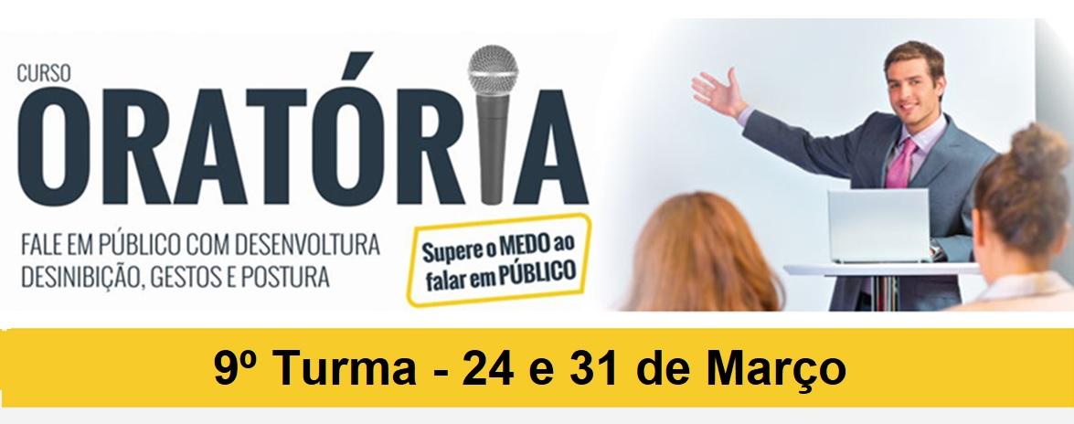CURSO DE ORATÓRIA - PRESIDENTE PRUDENTE - 9º TURMA