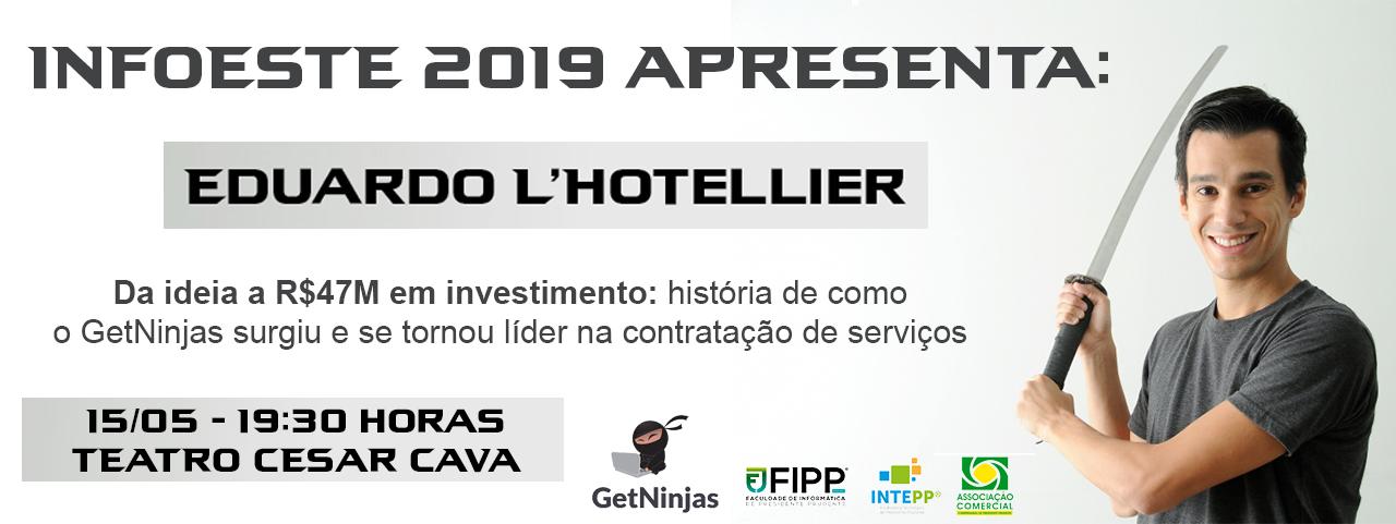 Palestra - Eduardo L'Hotellier - CEO GetNinjas