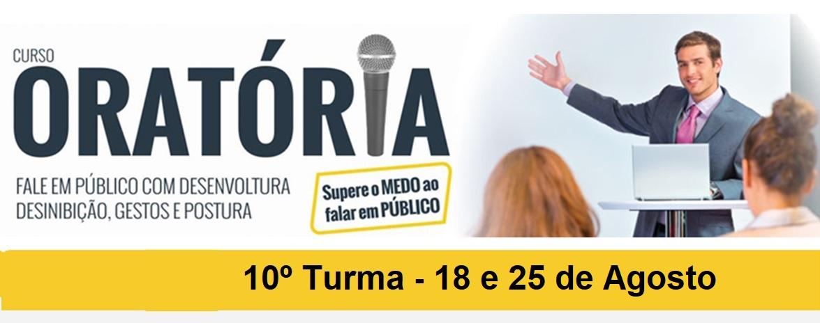 CURSO DE ORATÓRIA - PRESIDENTE PRUDENTE - 10º TURMA