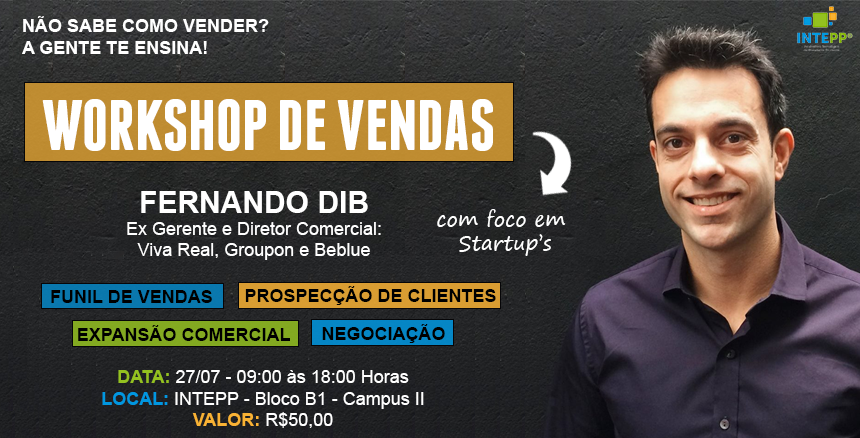 Workshop de Vendas - Fernando Dib