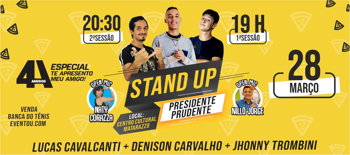Stand Up Presidente Prudente com Denison Carvalho