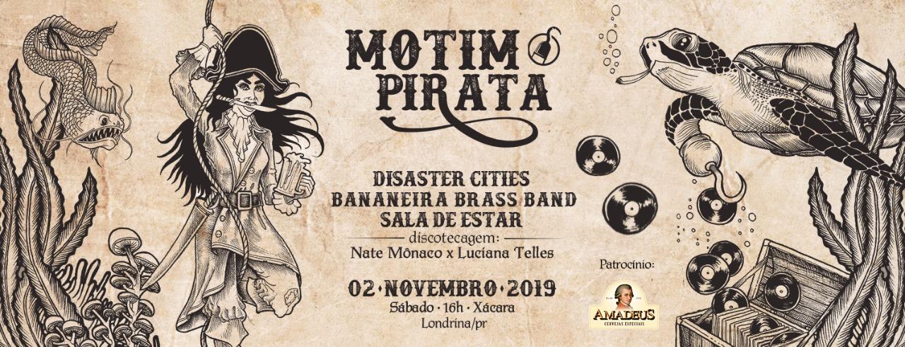 Motim Pirata | Pré festival Resistência Pirata