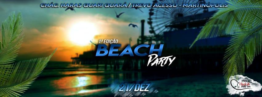 Beach Party - 1ª edição