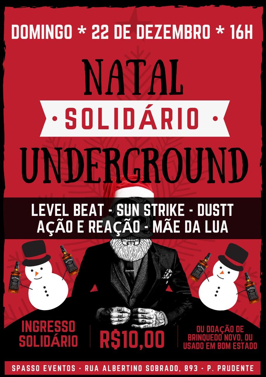 Natal Solidário Underground