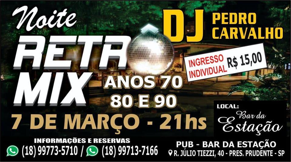 Noite Retro Mix - Anos  70 80 90