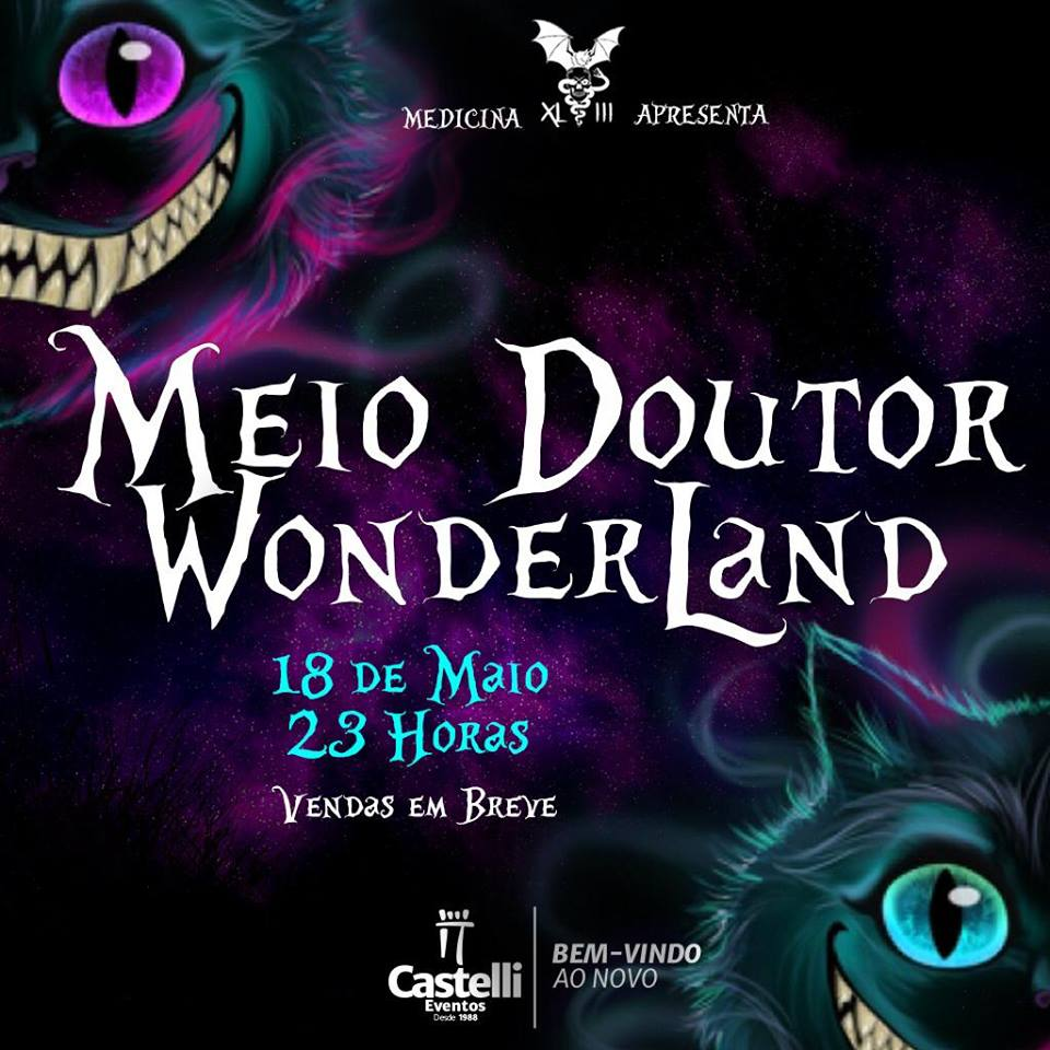 MEIO DOUTOR WONDERLAND